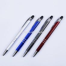 Engraved Designs Delicate Beautiful Aluminum pen Touch Brand pen