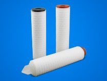 0.45micron Polyether sulfone membrane fold cartridge filter