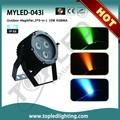 colorido 5in1 rgbwaip66 mini led al aire libre láser etapa deiluminación