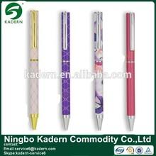 Slim Metal Ball Pen With Full Color Printing