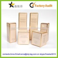 2015 Alibaba china professional custom cosmetic paper box