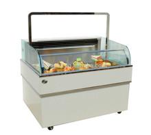 APEX top open type cake display fridge