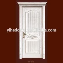New style white solid wooden door