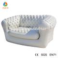 Alta qualidade de luxo cadeira inflável, inflável sofá chesterfield