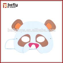 Panda shape toy Animal eva foam mask for children