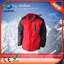 HJ08 7.4v Heated new design coat for men men west coat