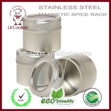 Stainless steel rack glass cruet glass cruet set glass cruet