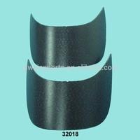 Manufacturing Black PE Material Cap Visor Peaks