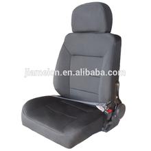premiun high back black cloth seat