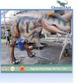 Animado adulto realistic dinossauros traje