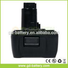 Replacement power tool battery DeWalt 14.4V , DE 9091, DW 9091, DW9091