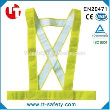 EN ISO20471 high quality reflective safety belt