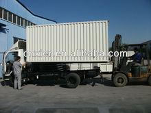 self-powdered truck refrigeration unit incity dry cargo van 2.5ton freezer body