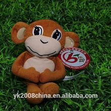 ICTI/ISO/SA8000/SEDEX audited factory making plush monkey /stuffed monkey/soft monkey toys for wholesale