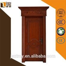 2015 Top sale solid wood frame/architrave custom latest design wooden doors