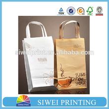 High quality kraft paper coffee bags, kraft paper bags food grade for coffee packaging