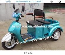 3 wheel motor trike/motor scooter trike/free wheel hub trike