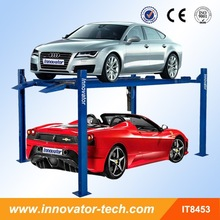 Stable vertical car parking for parking with CE approve