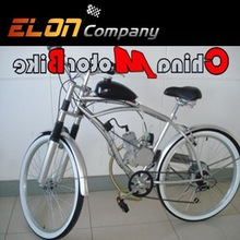 motorized petrol bike with 80cc gasoline engine for young people(E-GS102,sliver)