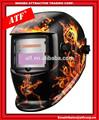Atf ATF CE EN379 máscara de solda Digital com diabo projeto da chama