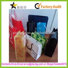 2015 Hight quality free design professional custom paper shopping bag