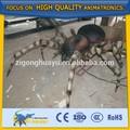 gran cetnology realista de insectos de fibra de vidrio estatua de araña