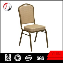 Hot sell stackable metal hotel chair/ hotel banquet chair with low price