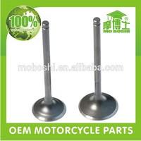 China motorcycle engine parts en125 motorcycle engine valve