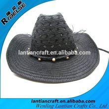 fashion cheap wholesale paper cowboy hat straw hat