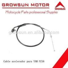 Cable acelerador de refacciones de motocicleta para FZ16