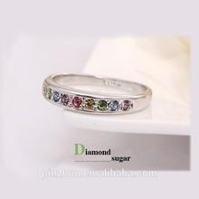 China Wholesale Simply Fashion, Platinum Plated Handmade Austria Crystal Ring