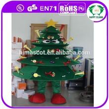 2015 Top selling kids christmas tree costume christmas tree dress costume