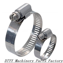 Discoutnt now!SUS304 stainless steel 9mm American type Worm Drive Flexible Natural Gas hose clamp