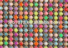 Hot fix mix color resin rhinestone ornaments 45*120cm
