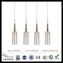 Art deco fancy light fixtures&led pendant lamp&led bottle lamp light