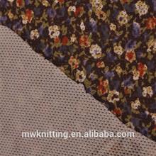 Cheap wholesale 100% polyester 3mm hexagonal jersey tulle net fabric