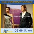 Cetnology tamaño natural verdaderas Movie Star humana escultura Angelina Jolie