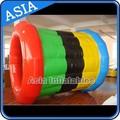 Flutuante de água da roda, caminhante da água inflável, jogos infláveis de grande porte