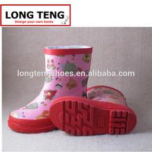 kids rain boots/pvc rain transparent rain boots/rain boots for kids
