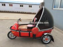 electric TEB-71 three wheels e trike three wheel bike passenger