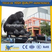 Cetnology Lifelike Amusement Park Decoration Giant King Kong Toy