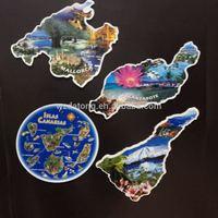 hot sale beautiful landscape paper fridge magnet