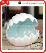 fashion white ceramic box for jewelry