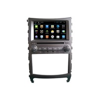 Capacitive Touch Screen OBD DVR Supported 7 inches Pure Android Veracruz DVD Player