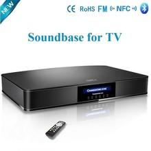 bluetooth soundbar TV soundbase TV sound stand with built-in subwoofer