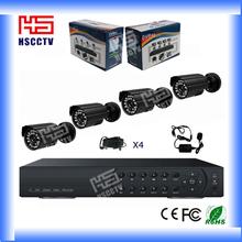 Outdoor Waterproof 4CH Cctv Set, Cctv Camera Set, Complete Cctv Set