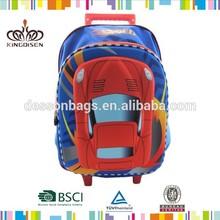 14inch cars school bags for boys, children trendy boys school bag SP-103T