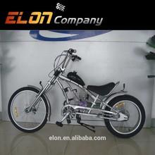 24GAS MOTOR ENGINE BIKE,CHOPPER BICYCLE GAS BIKE from ELON (E-GS303,sliver)