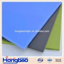 white high density polyethylene/polyethylene board/slide trailer