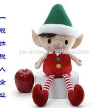 New Christmas Elf animal toy plush / stuffed soft xmas fairy doll